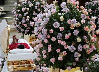 <strong>Aretha Franklin's funeral, August 31<br> </strong>