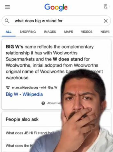 Big W name meaning