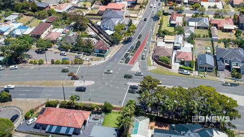 A total of 36 pinch points will be fixed under the NSW government plan. Picture: 9NEWS