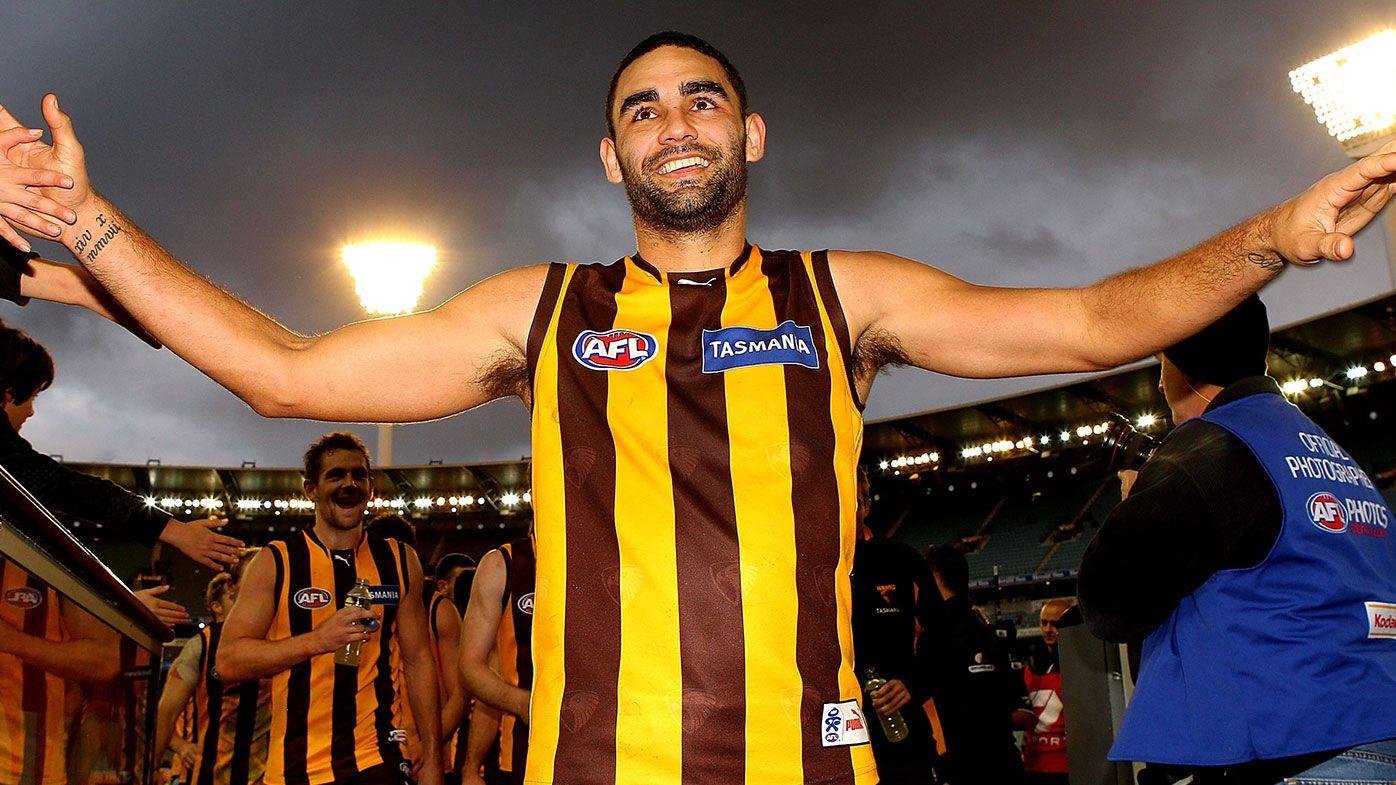 Shaun Burgoyne of the Hawks