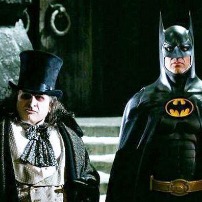 Danny DeVito and Michael Keaton