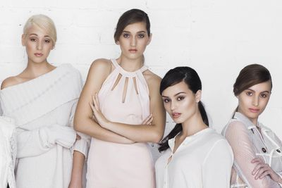 Brittaney, Anouska, Olivia and Nikolina