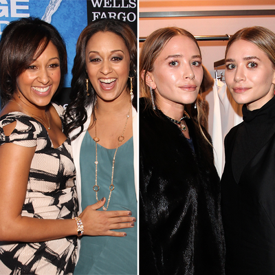 Tia and Tamera Mowry and Ashley and Mary-Kate Olsen.