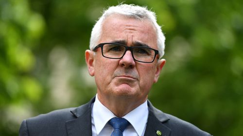 Andrew Wilkie has indicated he will not waste taxpayer money returning to Canberra if parliament is not sitting (Image: AAP)