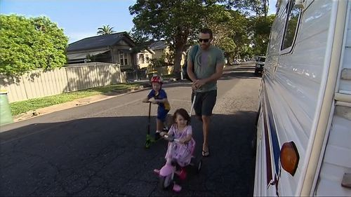 A neighbour, Jason, was surprised to hear of the attack. He walks past the property with his young children every day. (Channel Ten News)