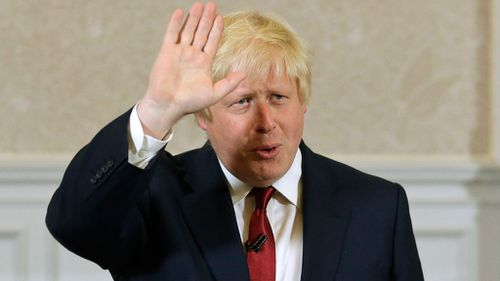 Boris Johnson has been named as Foreign Secretary.