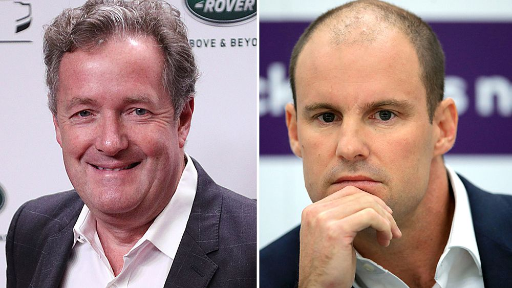 Ashes 2017: Piers Morgan tees off at ECB director Andrew Strauss after Ben Duckett suspension