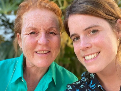 Princess Eugenie and mother