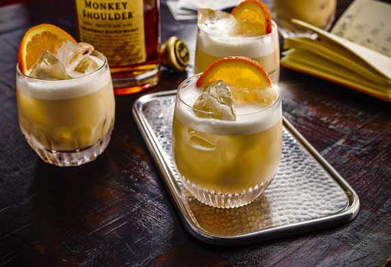 Monkey Shoulder Godfather sour