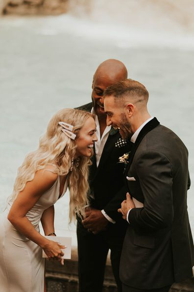 My Wedding Day: Couple marries at Rome's Trevi