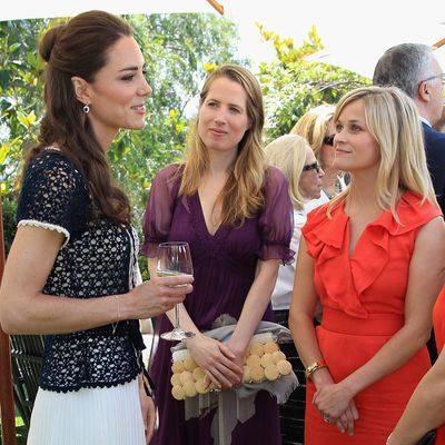 Catherine, Duchess of Cambridge and Reese Witherspoon
