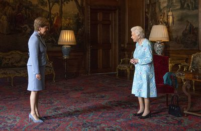 Queen takes on first solo duties during Scotland Royal Tour, June 2021