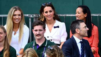 The Duchess of Cambridge on Day 2 of Wimbledon 2019