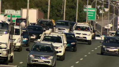 Queensland's M1 speed limit to drop in busy periods
