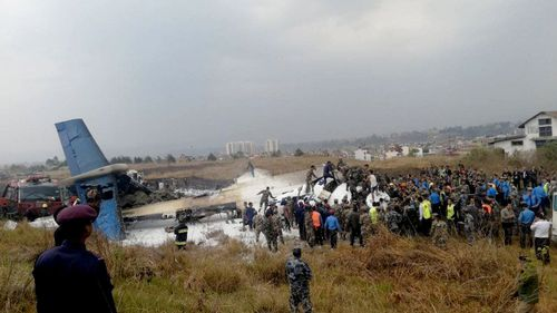 """The pilot of a doomed Bangaledeshi airliner was disoriented and tried to land in """"sheer desperation"""" when the plane crashed last year in Nepal."""