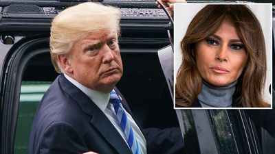 'Welcome home Melanie; I mean Melania*': Trump misspells name
