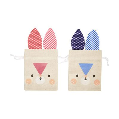 "<a href=""http://www.kmart.com.au/product/bunny-fabric-treat-bag---assorted/1277829"" target=""_blank"">Kmart Fabric Bunny Treat Bags, $1.50 each.</a>"