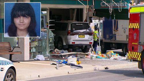 Driver charged over fatal Sydney chemist crash 'never held a licence'