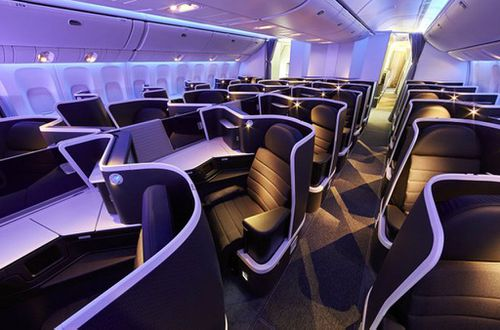 Virgin Australia unveils new international business class cabin