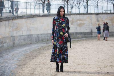 Tiffany Hsu loves the label's dresses.