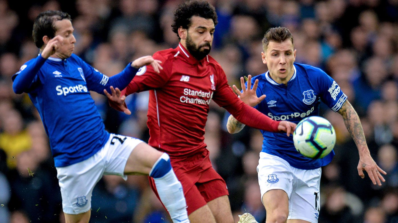 Toothless Liverpool frustrated by Everton in scoreless draw, handing Man City EPL lead