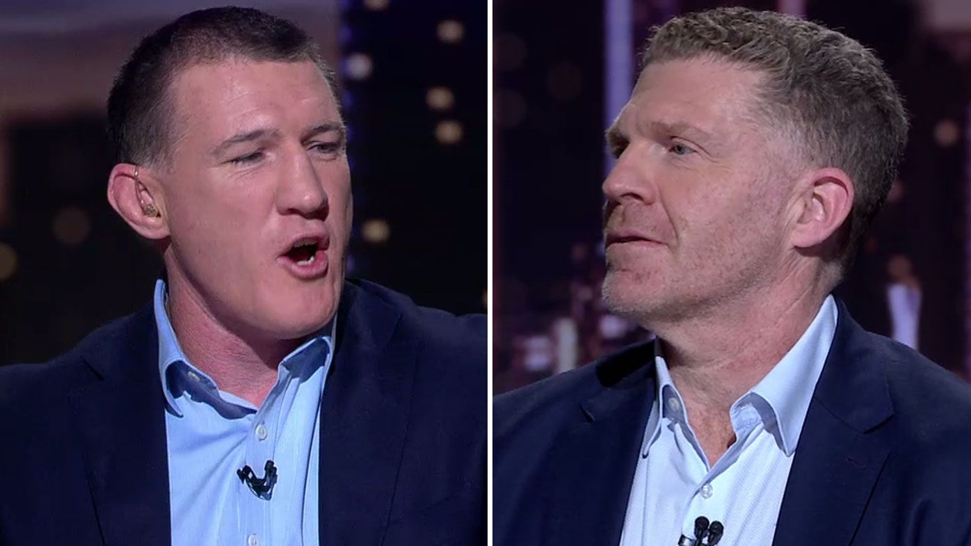 'You're a dinosaur': Paul Gallen and Danny Weidler lock horns over on-field microphones