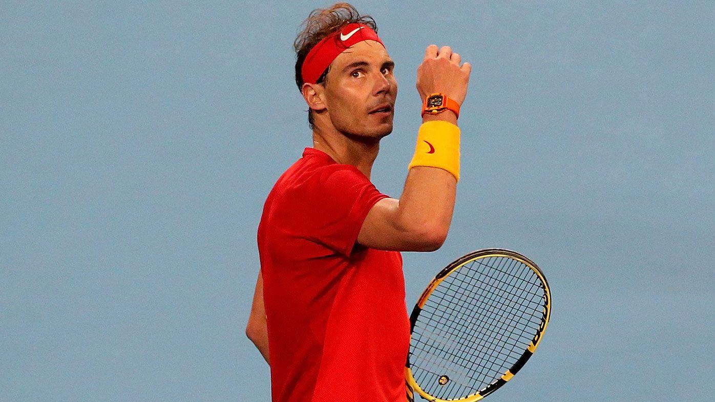 Rafael Nadal cruises to victory at ATP Cup