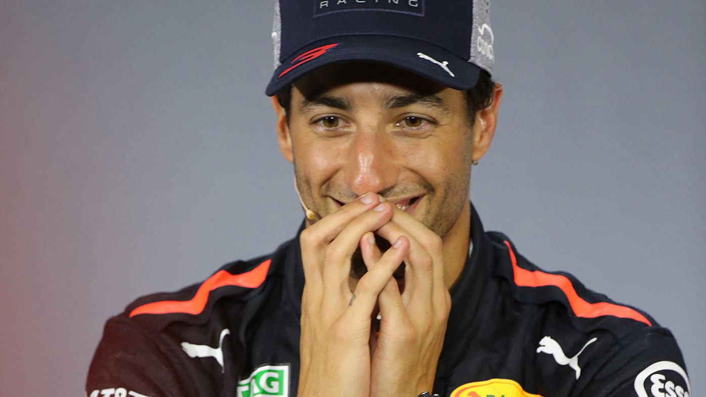 Daniel Ricciardo's hilarious reaction to shock China Grand Prix win