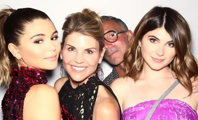 Lori Loughlin, Mossimo Giannulli, Isabella Giannulli and Olivia Jade Giannulli