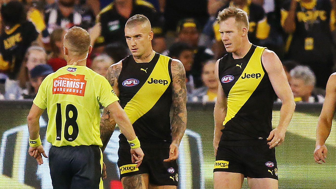 AFL umpires will be rusty too: Razor Ray
