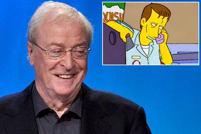 James Woods plays a kooky version of himself (years before he did the exact same thing in Family Guy) in season five's 'Homer and Apu'. However, according to then-showrunner David Mirkin, the role was first offered to Michael Caine.