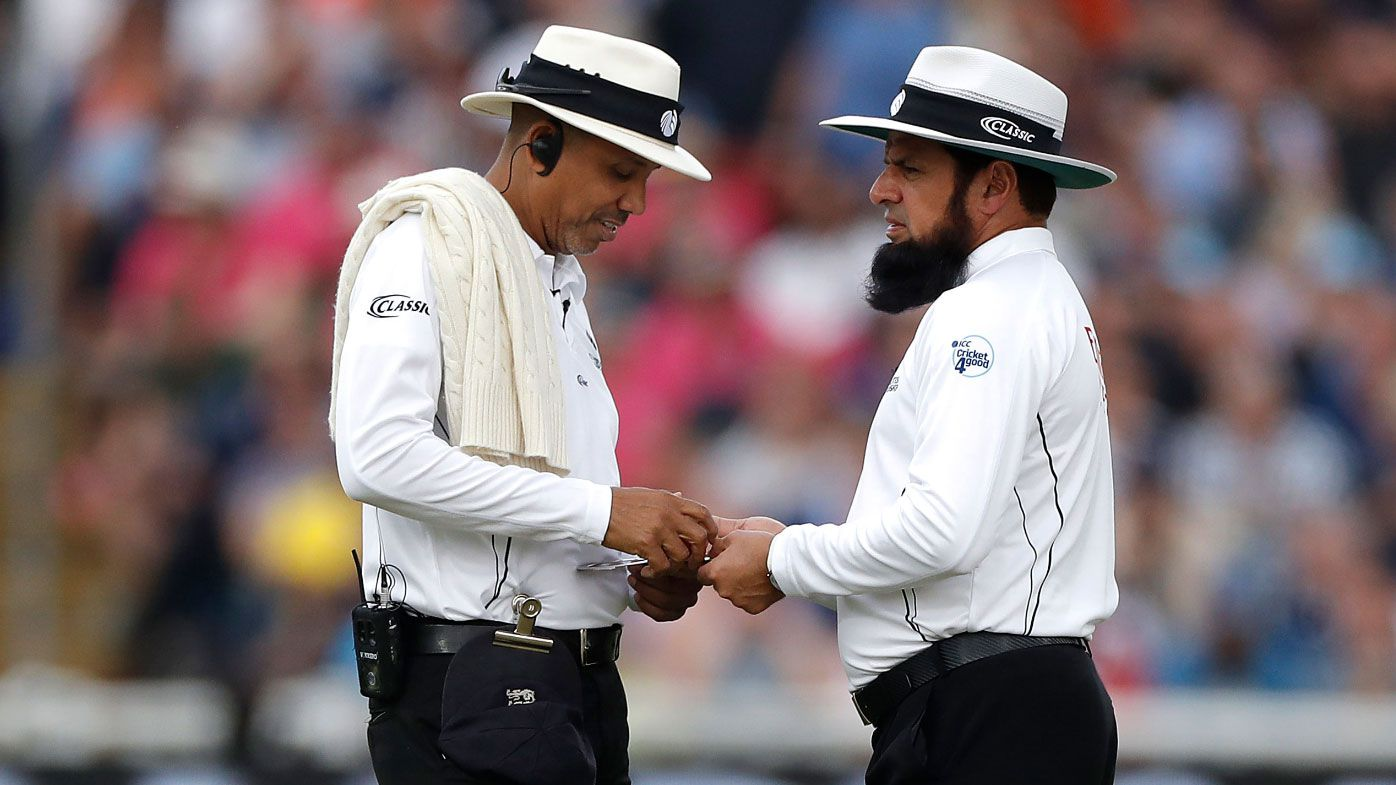 Ashes first test umpires