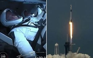 NASA-SpaceX rocket embarks on historic flight