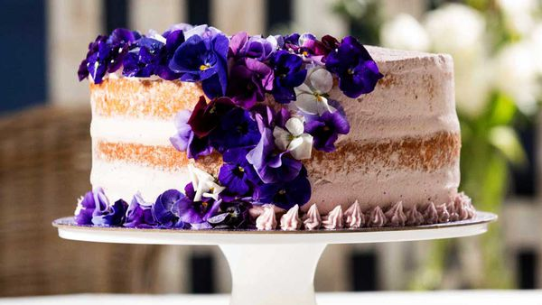 The Shahrouk's wedding cake