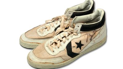 Michael Jordan's gold medal-winning Converse shoes to fetch $134,000