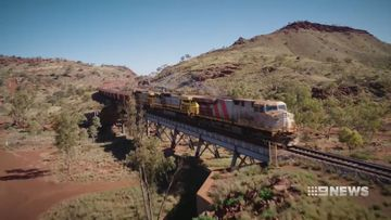 Rio Tinto has developed the world's first driverless heavy-haul Long distance rail network.