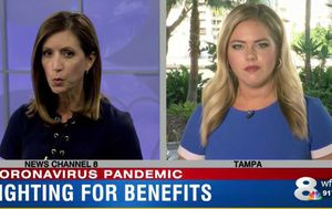 Florida news reporter diagnosed with cancer after viewer spots tumour