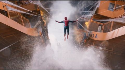 Spider-Man: Homecoming first trailer