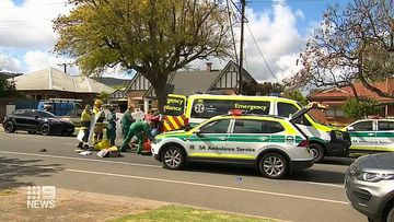 A young boy is fighting for life after being hit by a car in South Australia.