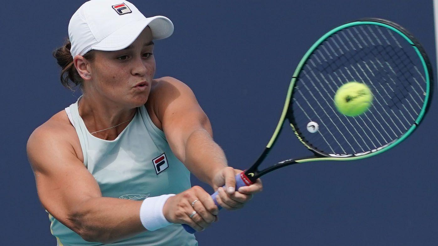 Ash Barty beats top-10 player Aryna Sabalenka to reach Miami Open semi-finals
