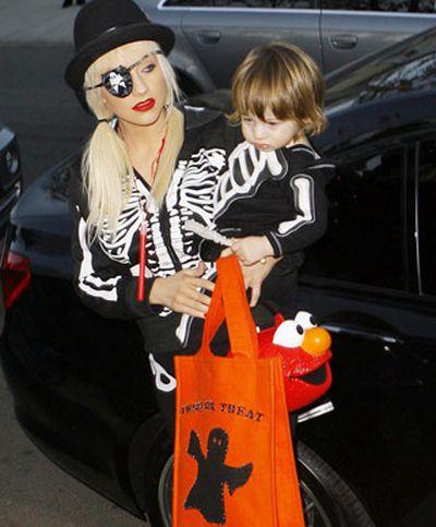 With super-cute son Max.