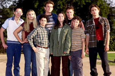 <B>The skinny:</B> This hilarious and off-beat 1999 Judd Apatow series was unfortunately short-lived, but helped launch the careers of Seth Rogan, Jason Segel and Linda Cardellini. <br/><br/><B>Why we loved it:</B> True to its name, <I>Freaks and Geeks</I> featured a cast of slackers, wannabe musicians and total nerds as they endured a year of high school in the early '80s. For anyone who spent their teen years playing<I> Dungeons & Dragons</I>, failing PE and not being good enough to join a band, this show was a painfully accurate (but dead funny) depiction of classroom torture.