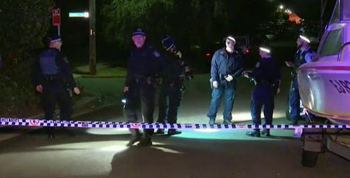 Police say the shooting was not a random attack. (9NEWS)