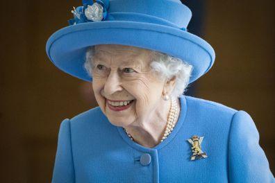 Queen brooch