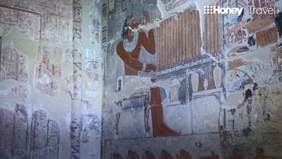 Ancient 4300-year-old tomb in Egypt opens to the public for the first time