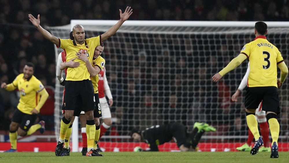 Arsenal suffer shock loss to Watford