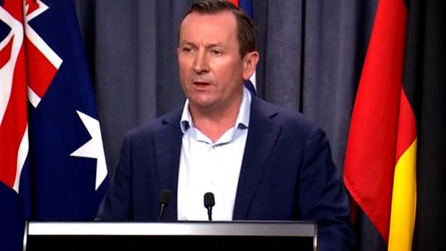 WA Premier Mark McGowan provides a COVID-19 update on day one of the lockdown.