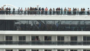 Passengers aboard the MSC Magnifica cruise ship, which is understood to be carrying 250 sick passengers and wanting to dock in Western Australia.