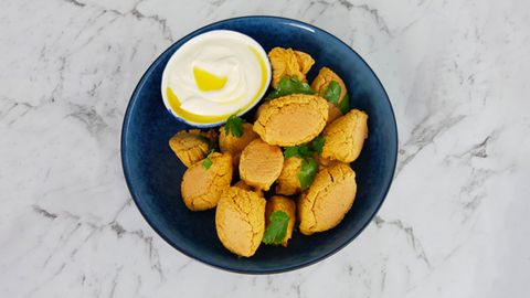 A recipe for healthy falafels