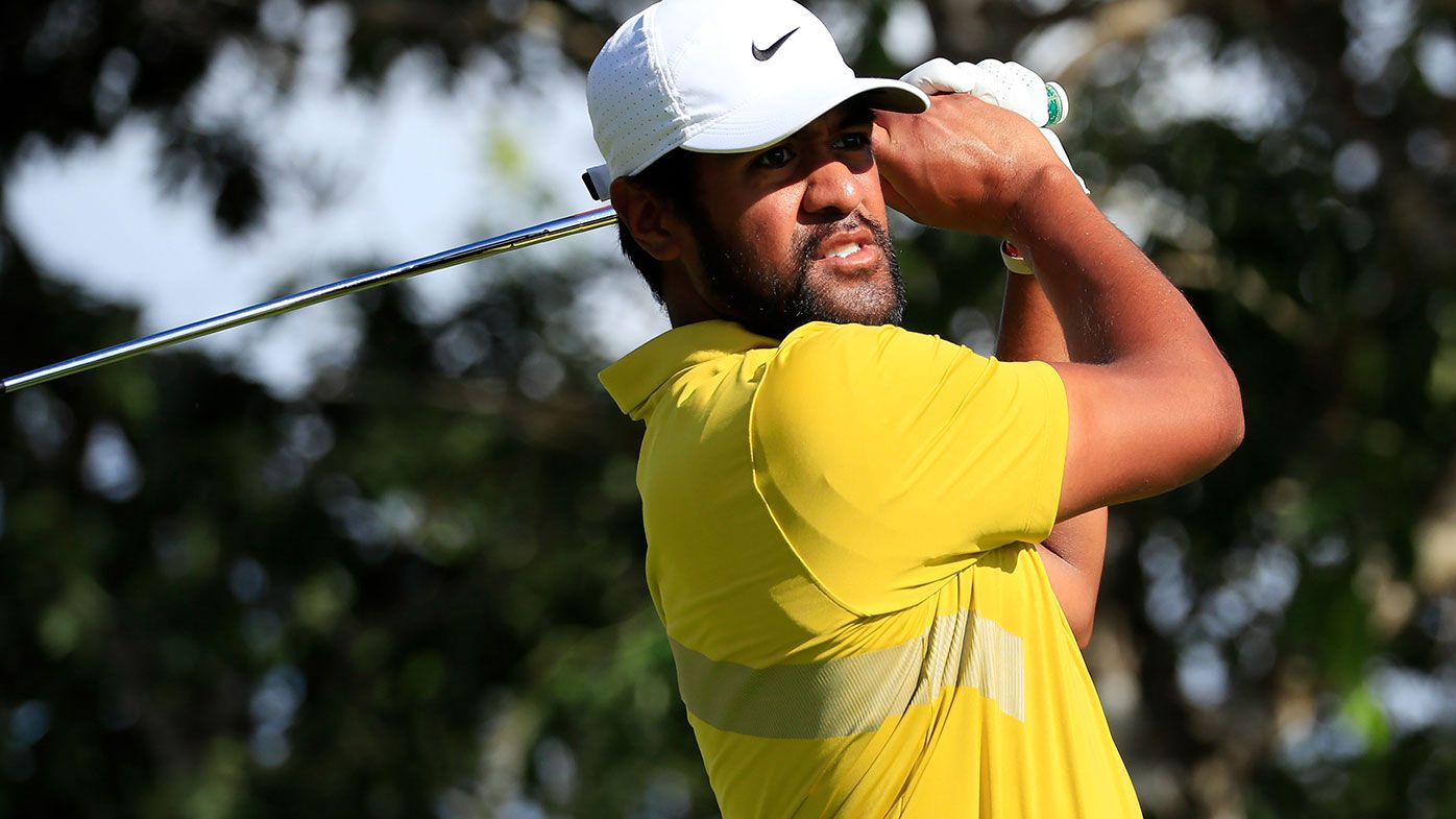 Tony Finau reacts to hilarious Tiger Woods Presidents Cup prank